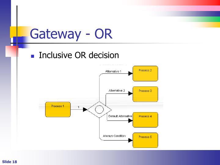 Gateway - OR
