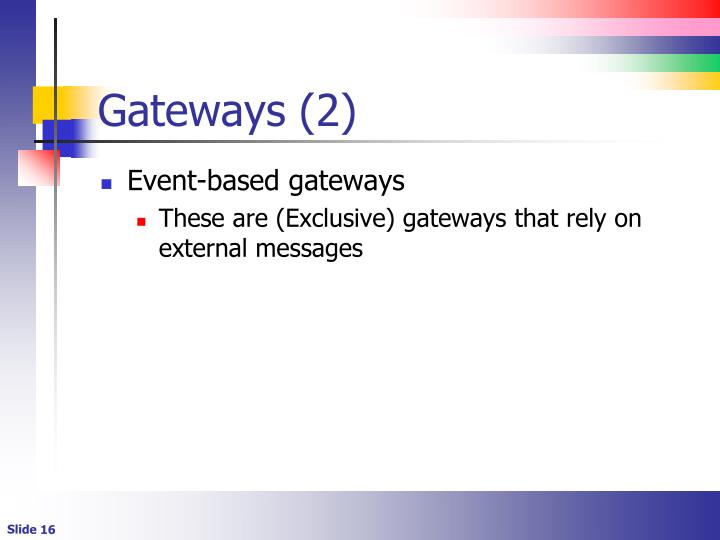 Gateways (2)