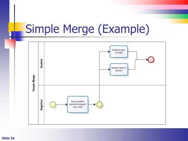 Simple Merge (Example)