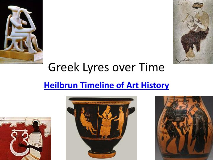 greek lyres over time n.