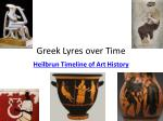 greek lyres over time