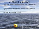 4 reject scientism