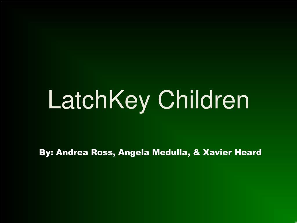 latchkey children effects