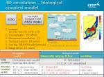3d circulation biological coupled model