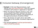 inclusive gateway con vergence2