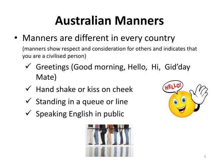 Ppt australian culture customs powerpoint presentation id2063376 australian manners m4hsunfo