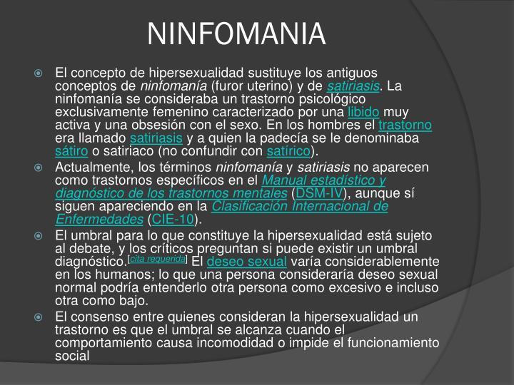 NINFOMANIA