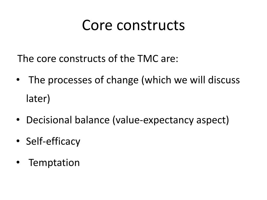 PPT - STAGES OF CHANGE MODELS PowerPoint Presentation - ID