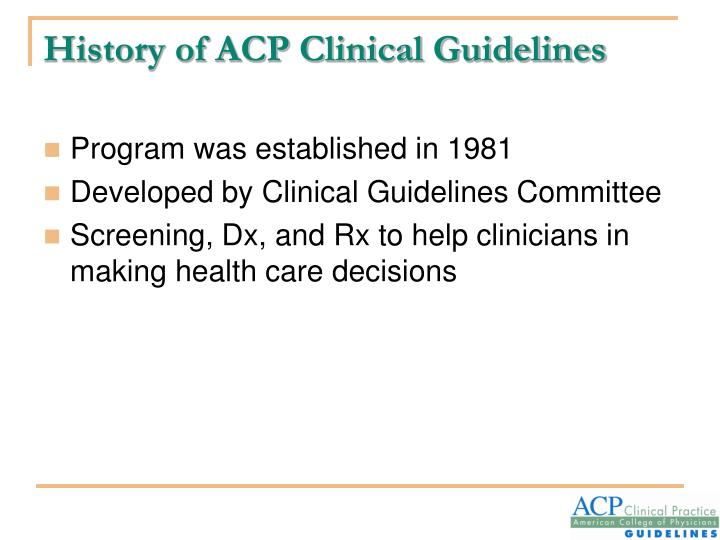 """an explanation of clinical guidelines to a A frequent misconception is that guidelines and """"evidence-based practice"""" is limited to clinical areas with a plethora of large phase iii studies in fact, rigorous guidelines can be formulated for any clinical area, irrespective of the """"quality"""" of the underlying data."""