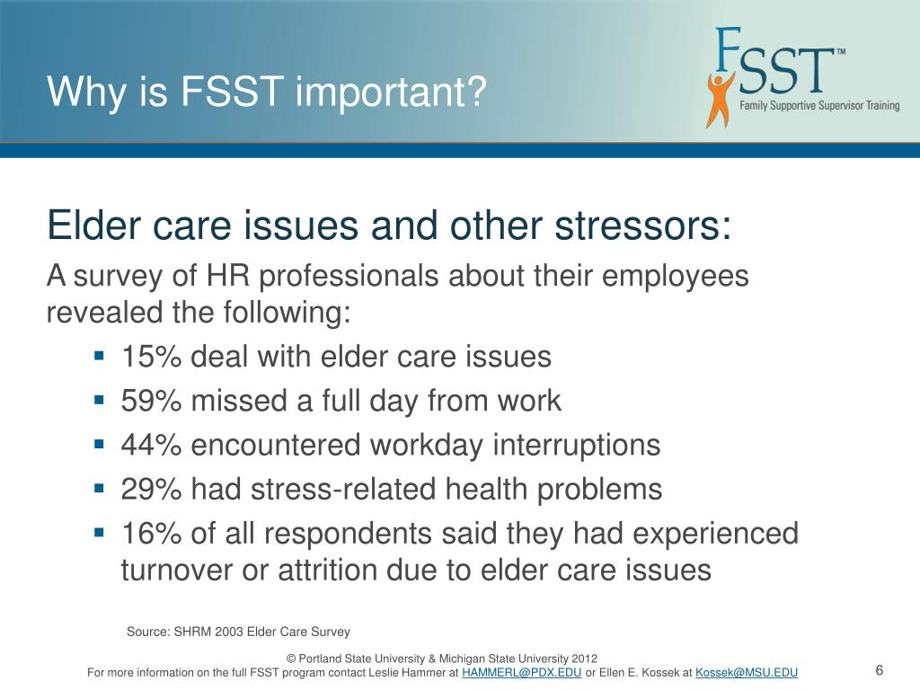 PPT - Family Supportive Supervisor Training Tool PowerPoint