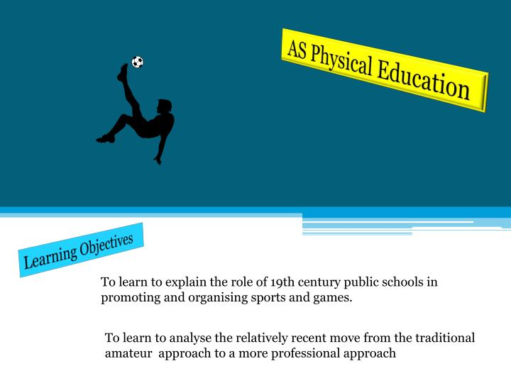 AS Physical Education