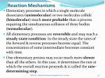 reaction mechanisms1