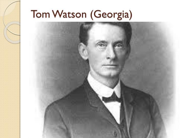 Tom Watson (Georgia)