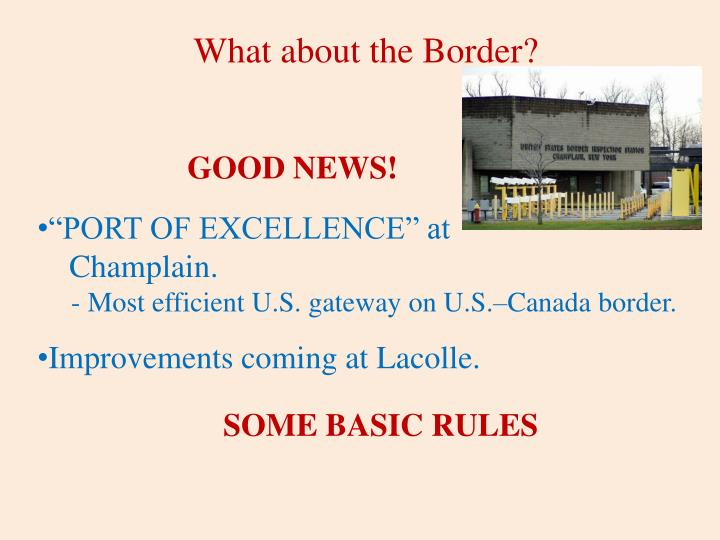 What about the Border?
