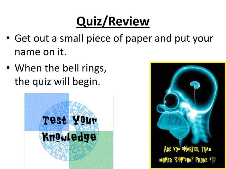 quiz reviewer