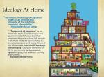 ideology at home