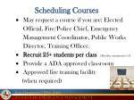 scheduling courses1