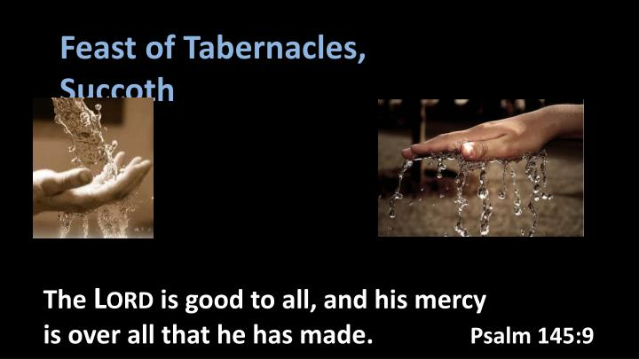 Feast of Tabernacles,