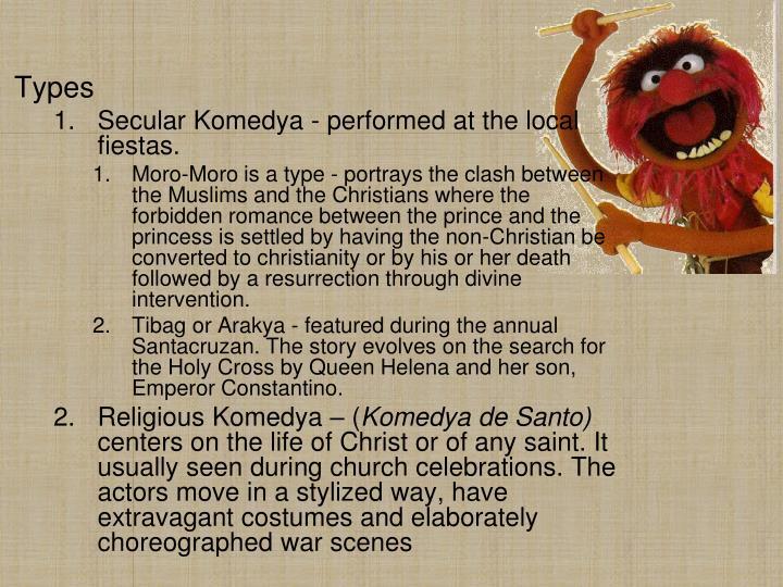 komedya script