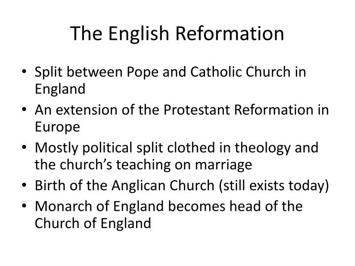 The english reformation1