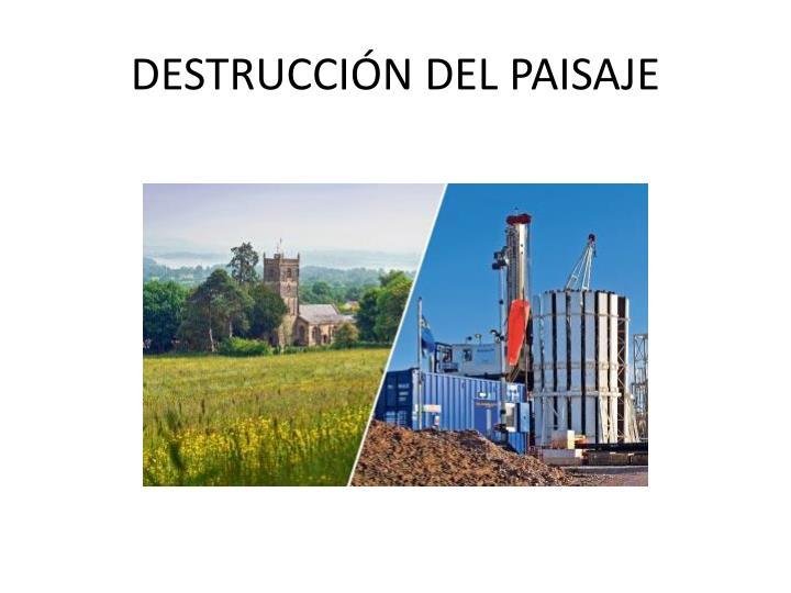 DESTRUCCI