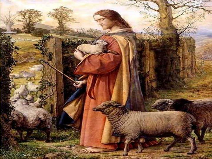 Os aseguro que  el que no entra por la puerta             en el aprisco               de las ovejas, sino que salta por otra parte, ese es ladrón y bandido;