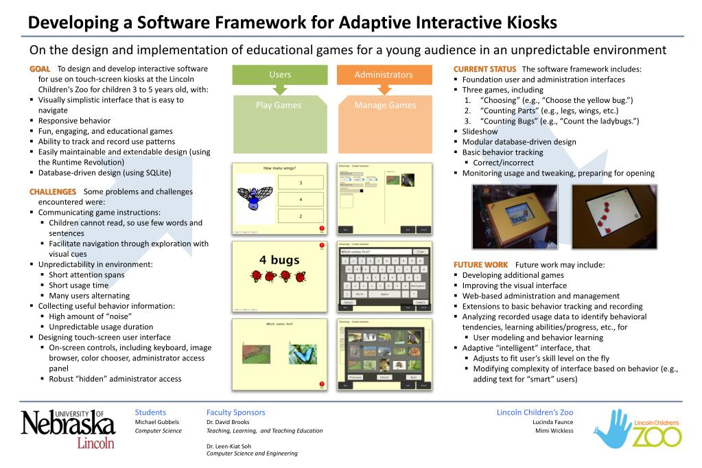 Ppt Developing A Software Framework For Adaptive Interactive Kiosks Powerpoint Presentation Id 2066903