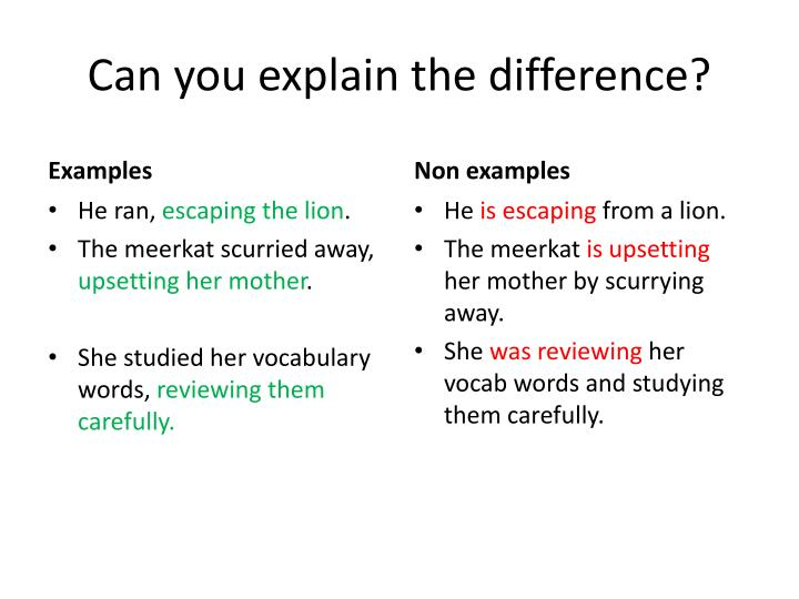 Can you explain the difference?