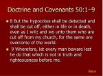 doctrine and covenants 50 1 93