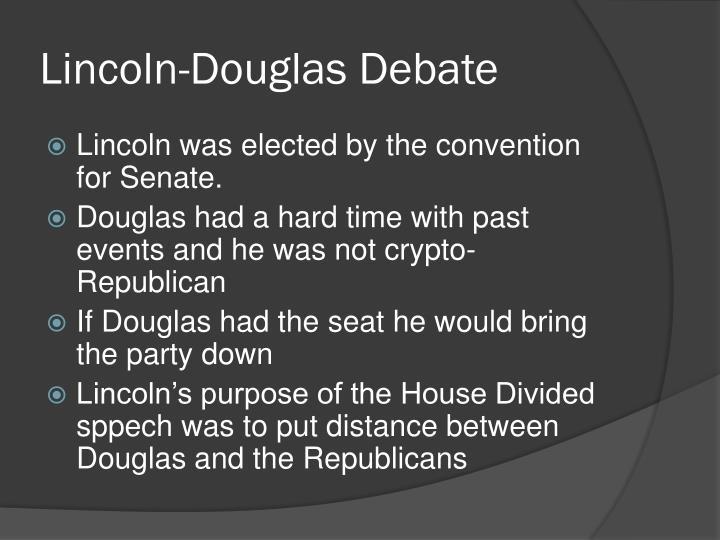 Lincoln-Douglas Debate