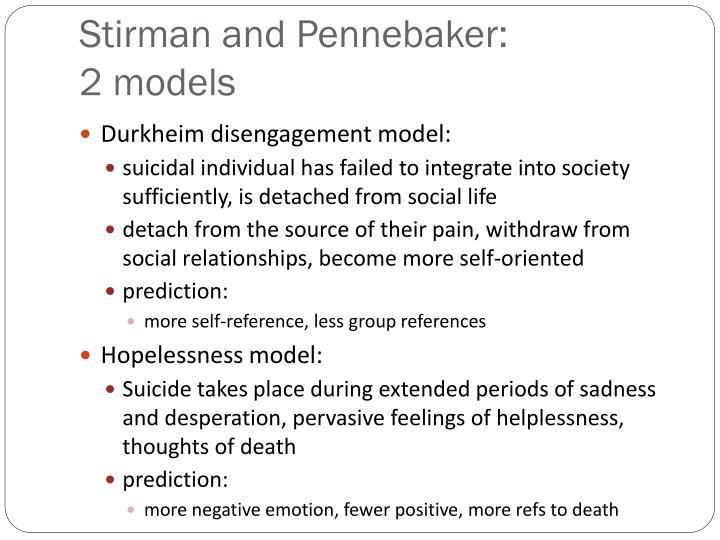 Stirman and Pennebaker: