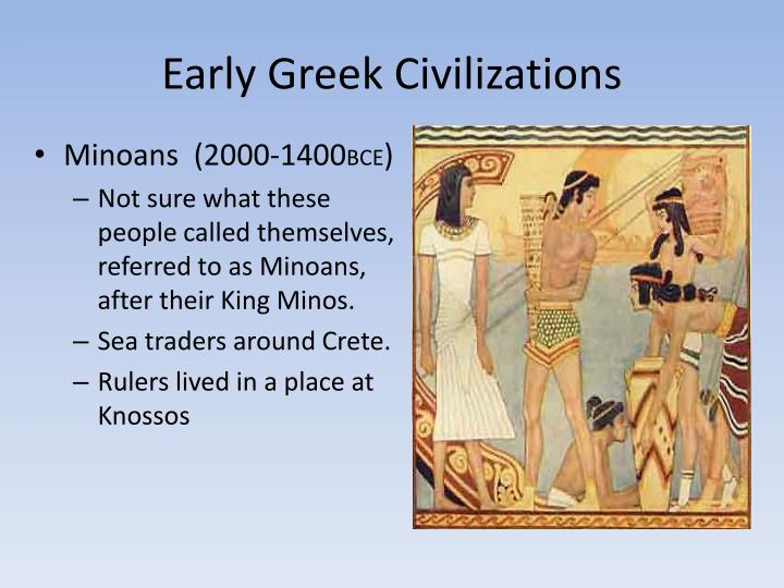 Early Greek Civilizations