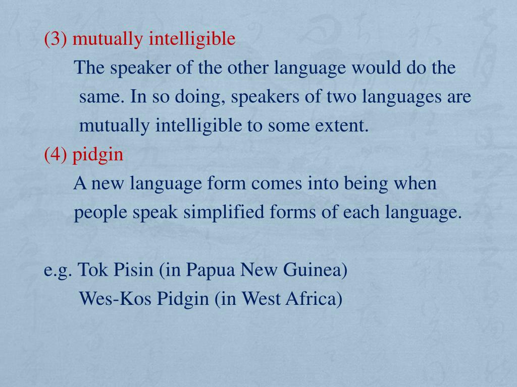 PPT - Chapter 11 Sociolinguistics PowerPoint Presentation