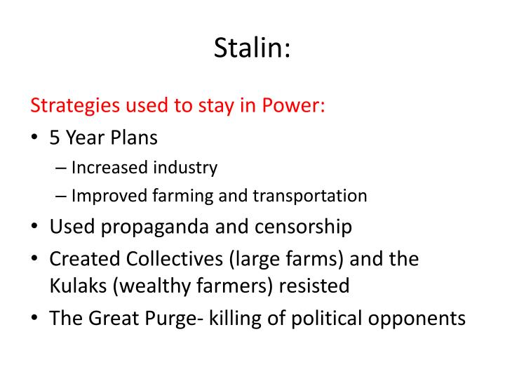 Stalin: