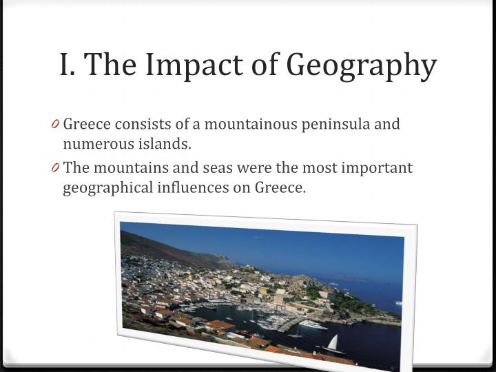 I the impact of geography