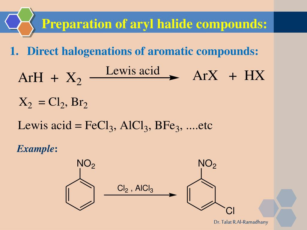 Ppt Aryl Halides Powerpoint Presentation Free Download