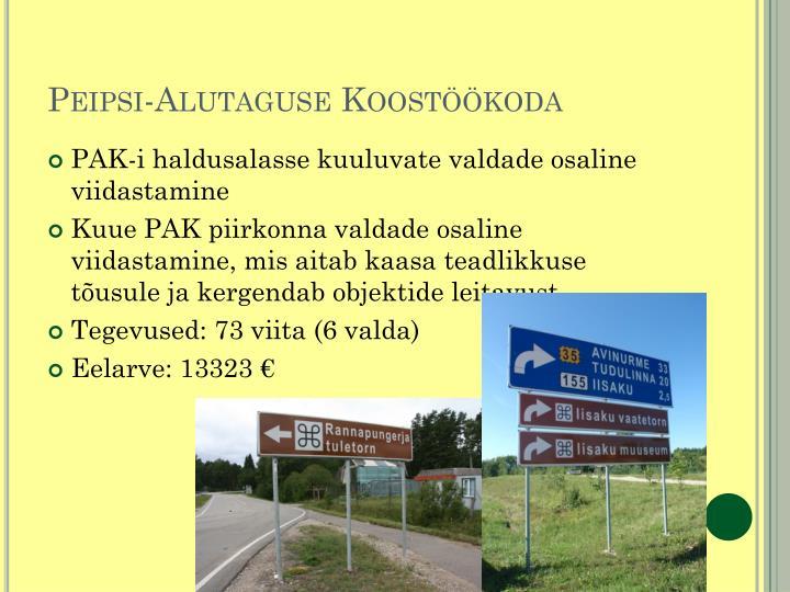 Peipsi-Alutaguse Koostöökoda