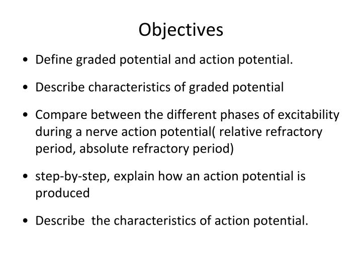 what is the difference between graded potential and action potential