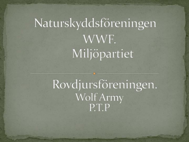 Naturskyddsföreningen