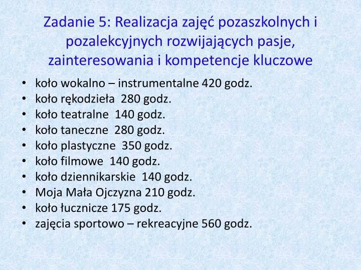 Zadanie 5: