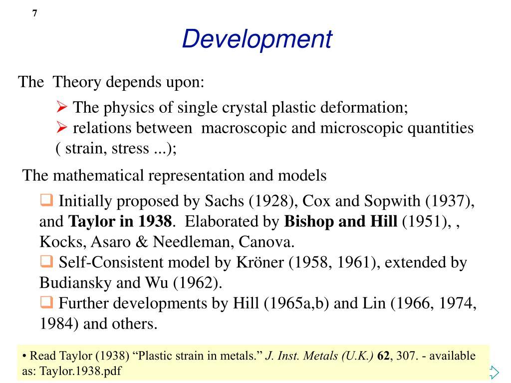 PPT - Polycrystal Plasticity - Multiple Slip PowerPoint