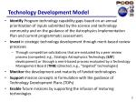 technology development model