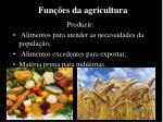 fun es da agricultura