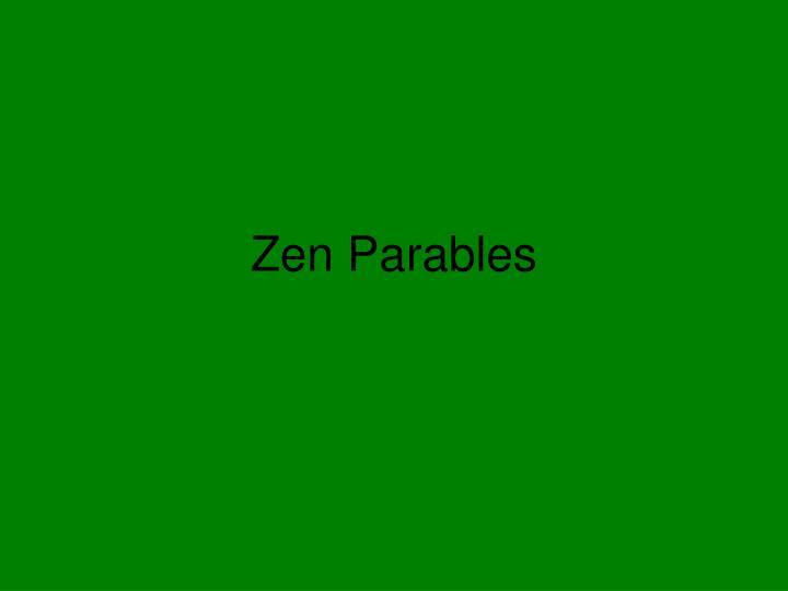 Zen parables