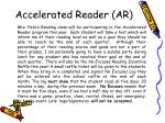 accelerated reader ar