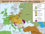evropa po prvn sv tov v lce 1923
