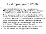 first 5 year plan 1928 321