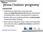 praxe trainee programy4