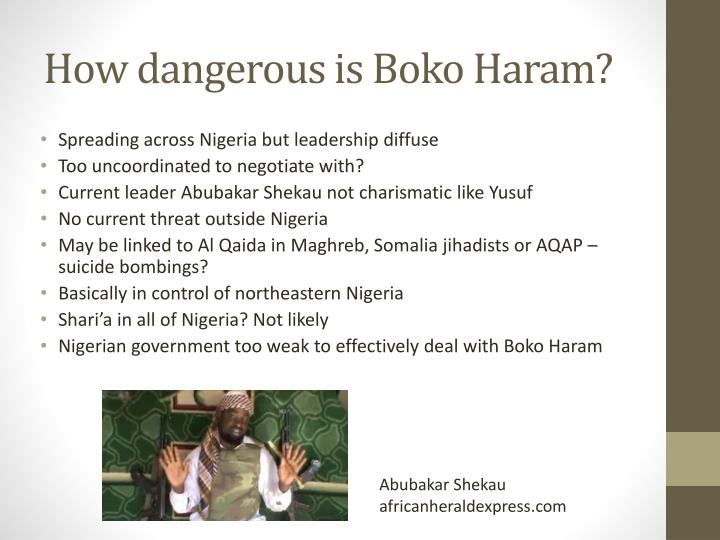 How dangerous is Boko Haram?