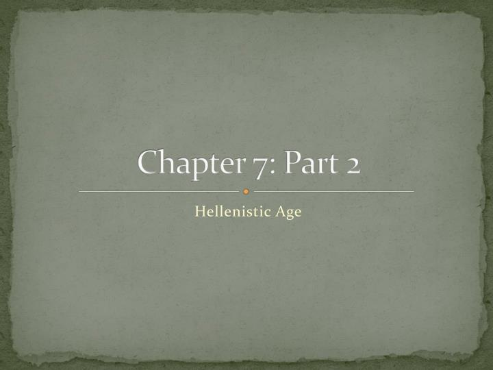 chapter 7 part 2 n.